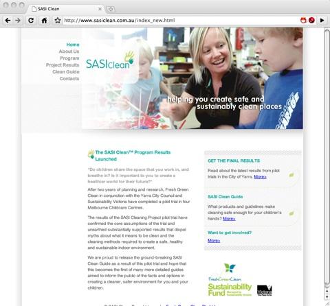 SASI Clean Website
